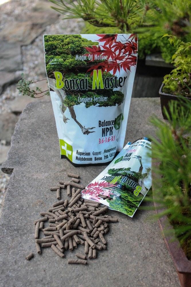 bonsai master abono orgnico 100 gr pellets 1 - Abono Organico