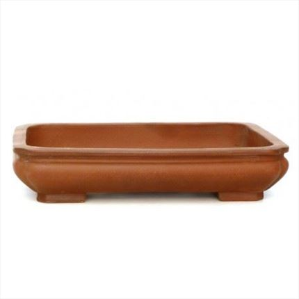Maceta para bonsai Yixing Rectangular 36.5 x 28.5 x 7.5 cm