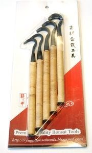 RYUGA Gubia 190 mm - set 5 unidades